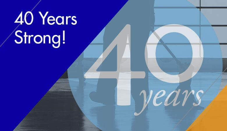 40 Years Strong!