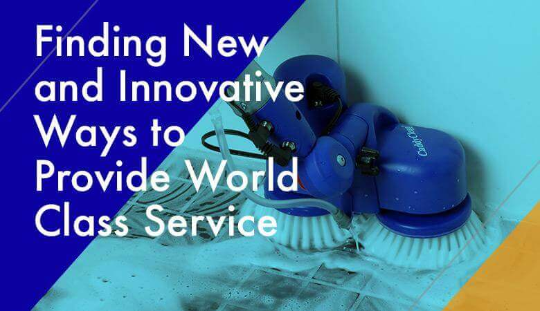 Finding New and Innovative Ways to Provide World Class Service