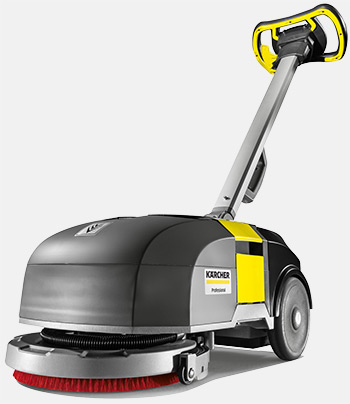 Karcher disc scrubber